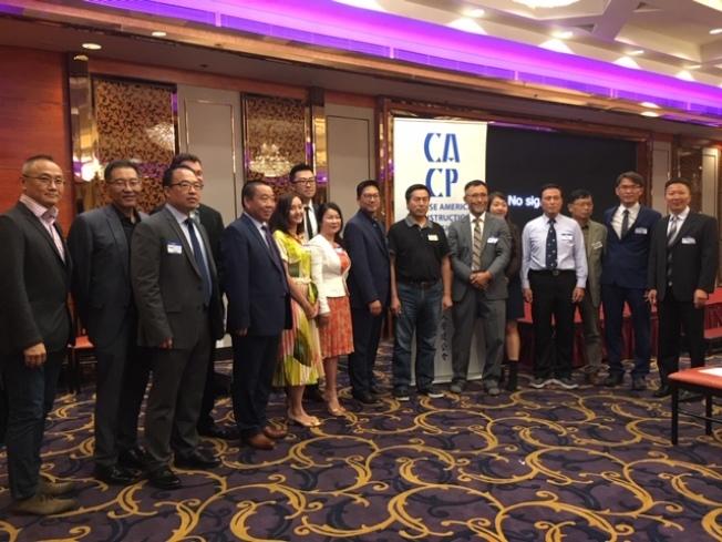 美國華人營建公會11日公布2019年度華人建設卓越獎,來自中美兩國兩岸三地23個建築單位和設計師榜上有名。(記者楊青/攝影)