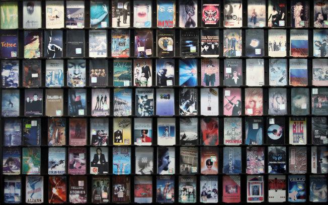 卡帶銷售量近年有上升趨勢。(路透資料照片)