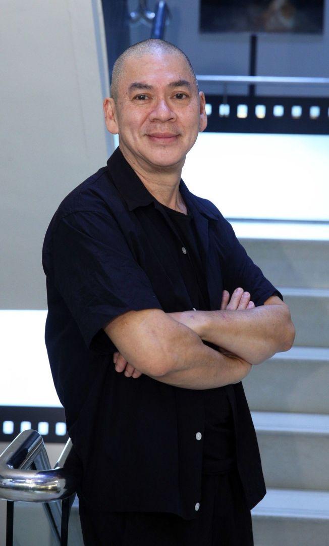 蔡明亮出席「天橋不見了」數位修復放映活動。(記者劉學聖/攝影)