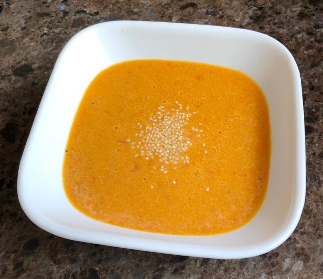 南瓜紅椒湯