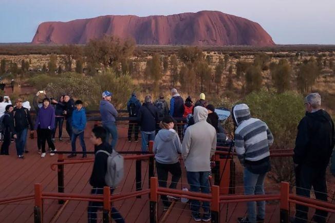 澳洲知名景點「烏魯魯」被聯合國教科文組織列為世界遺產。圖╱Getty Images