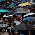 反「禁蒙面法」 戴口罩示威者再度上街