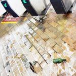港鐵九龍塘站出入口遭扔汽油彈 無人受傷