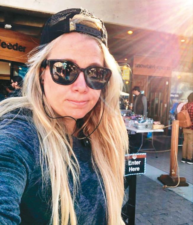 來自猶他州的一家科技公司女CEO瓦倫蒂(Erin Valenti圖,取自臉書),本周一(7日)在矽谷失蹤。