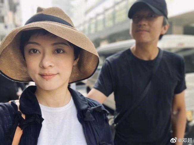鄧超又在網上懟孫儷,網友笑翻。(取材自微博)