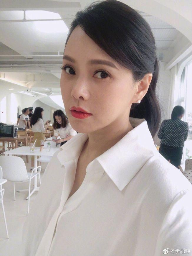 伊能靜女兒小米粒被網友留言攻擊,她氣到找了律師取證。(取材自微博)