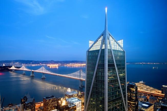 「佛利蒙街181號大廈」樓高800呎,位於舊金山南瑪區(SoMa),頂層的公寓,現在開售,索價4600萬元,成為全市目前要價最高住房。(Getty Images)