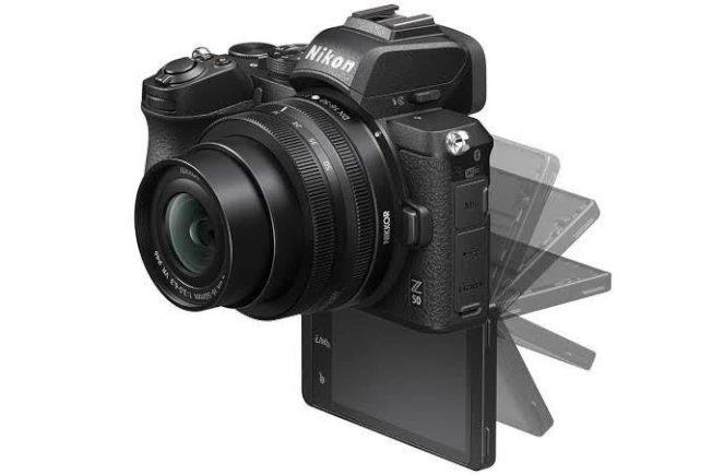 Nikon推出APS-C片幅設計的無反相機Z50。(取材自Nikon)