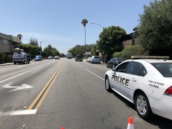 今日凌晨,洛杉磯韓國城一瑪莎拉蒂(Maserati)豪車撞進一家韓國餐館。(本報檔案照)