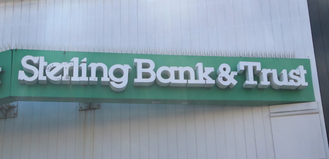 富華信託銀行並非是華資銀行,但是起了一個勝似華資銀行的名字。(李晗 / 攝影)