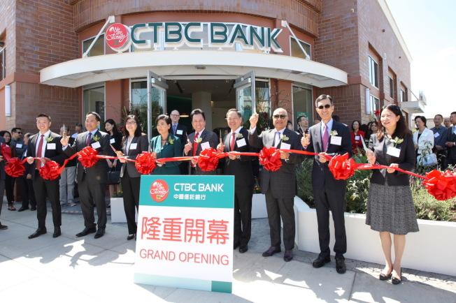 中國信託銀行於全美有14家分行,南北加都有許多服務據點。(圖:中國信託提供)