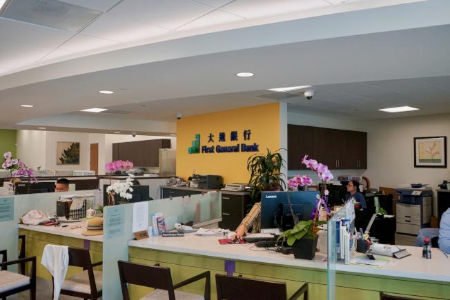 華資社區銀行,各有各的經營之道。圖為洛杉磯華資社區銀行大通銀行。(陳開/攝影)