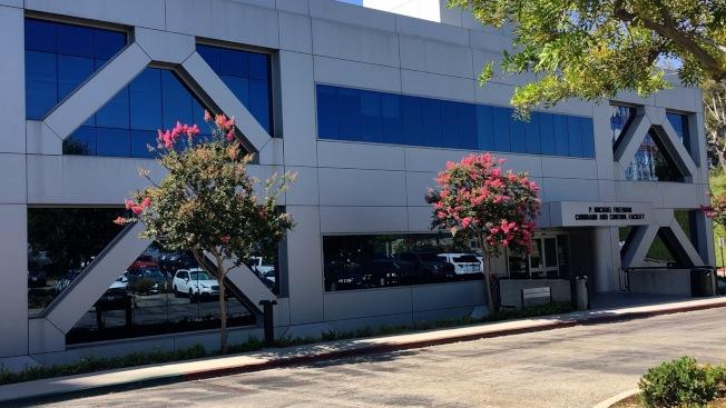 位於洛杉磯縣消防局總部內的調度中心屬多機構共用設施。(記者陳開/攝影)