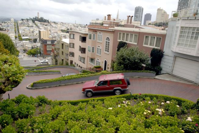 加州州長紐森否決舊金山九曲花街收費法案。(Getty Images)