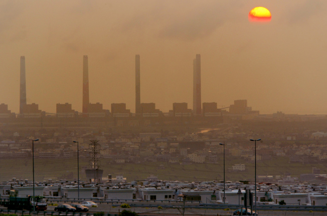 台中火力發電廠碳排放量曾為世界第一。(本報資料照片)