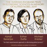 諾貝爾經濟學獎出爐 美法三學者獲獎
