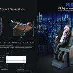 北美富士 隆重推薦太空智能倉零重力全身多功能全自動L導軌醫療按摩椅