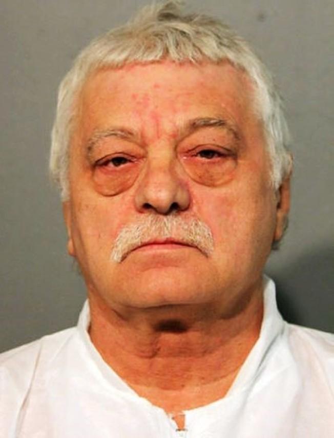 芝加哥警局14日向66歲的馬瑞克提控五項一級謀殺罪。(芝加哥警局)