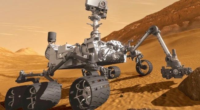 火星2020探測車模型。(美國航太總署官網)