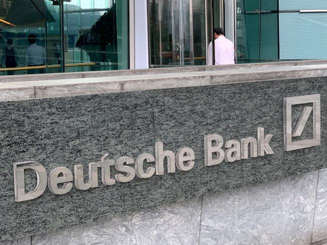 紐約時報的調查報導指,德意志銀行在本世紀初以來長期賄賂中共高層,取得對中國金融業務的「特權」。圖為在香港的德意志銀行。(路透社)