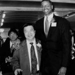 NBA首次去敲中國的門