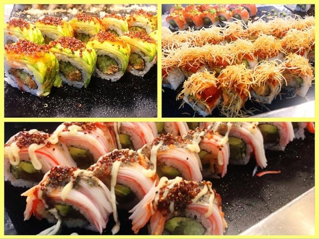 自製各款精美壽司