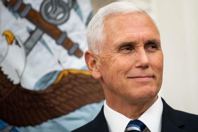 美國副總統潘斯(Mike Pence)。(Getty Images)