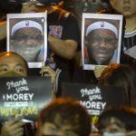 NBA詹皇「教訓」莫雷 美政媒界群起撻伐