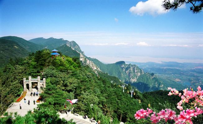江西廬山。