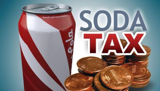 費城徵收含糖飲料稅,已有逾百家零售店違規被罰。(美聯社)