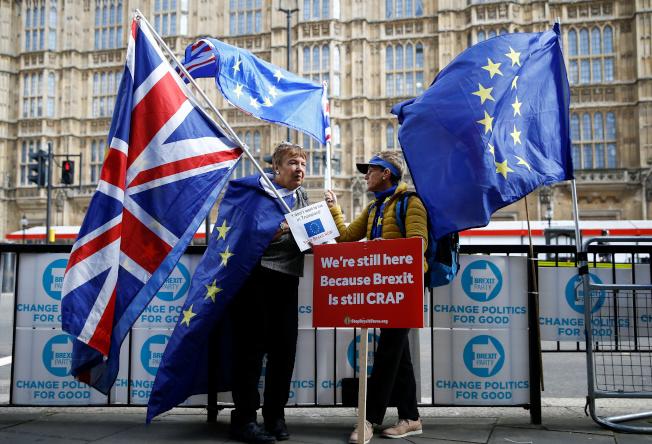 英國歐盟談判已接近達成協議。 (路透)