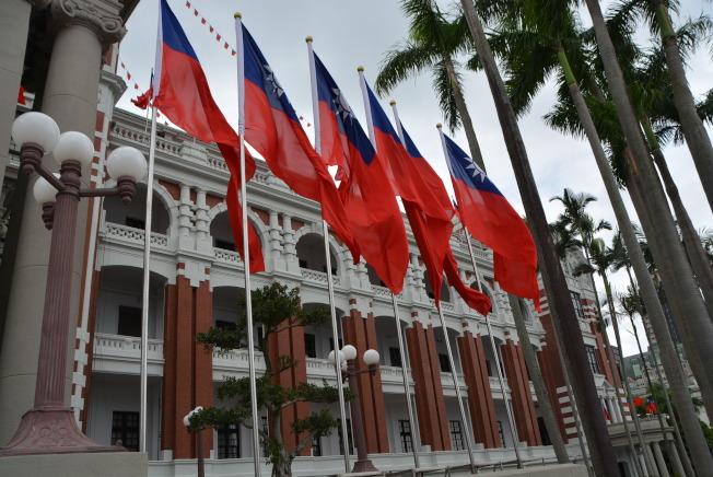 中華民國總統府表示,台灣的存在是對香港最大的支持。(記者丁曙/攝影)