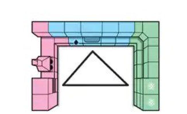 如果廚房稍大一點,便可以實現U型廚房。(取自宜家官網)