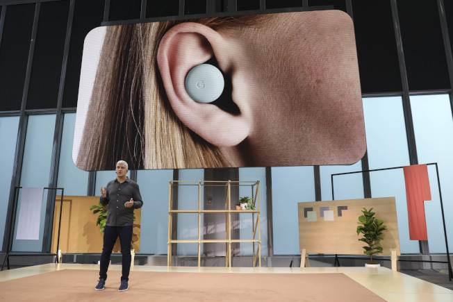 Pixel Buds真無線藍牙耳機。(Getty Images)