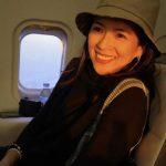 章子怡曬女兒「飆車」影片 網友笑:把單車當飛機開