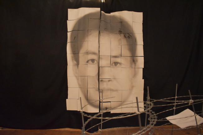 「失語者的抗爭」展覽從即日起展出至20日。(記者顏嘉瑩/攝影)