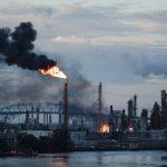 費城煉油廠爆炸 釋放5000磅劇毒化學品