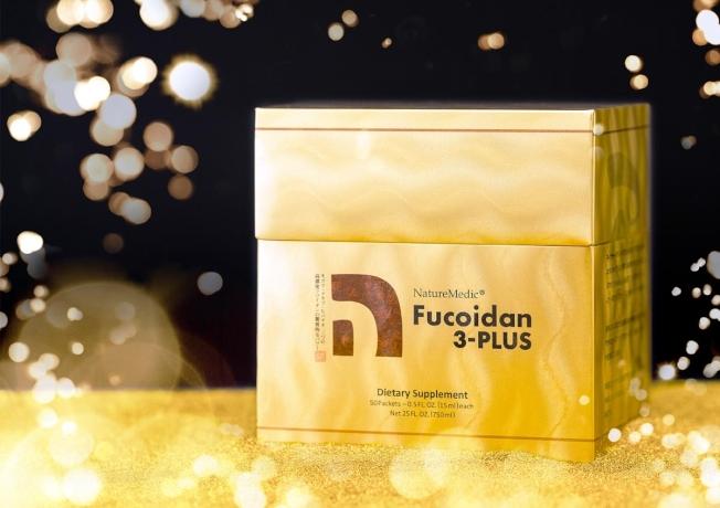 「自然醣褐藻糖膠3-PLUS濃縮液」包裝