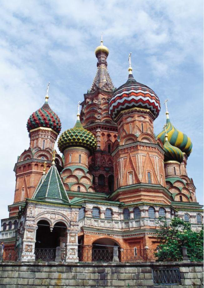 俄羅斯莫斯科聖巴索教堂