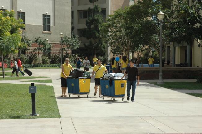 加州大學需要增建硬體設施,滿足擴大招生的需求。(記者丁曙/攝影)