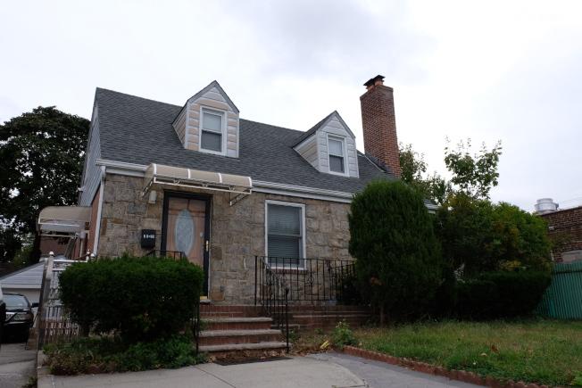 這棟房屋就是李林鴻的住所,他和家人約在一年前才搬進來。(記者曹健/攝影)