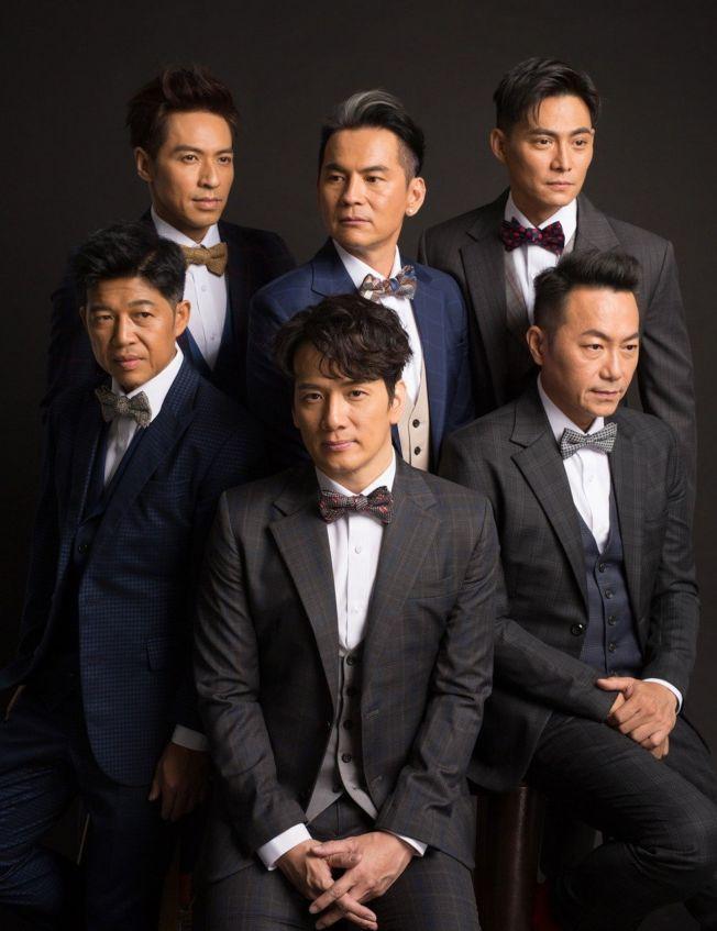 成軍30周年的男團「紅孩兒」重組回歸。(圖:歆動音樂提供)