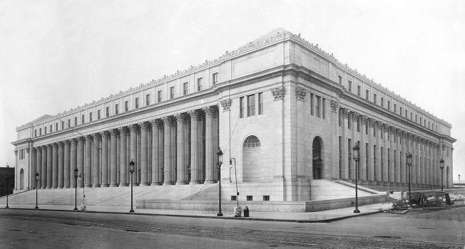 臉書和蘋果這兩家科技巨擘搶租有107歷史的紐約地標建築當辦公樓。取自維基百科,原圖來自美國國會圖書館