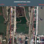路透:衛星影像顯示中國航母製造廠基建大幅擴充