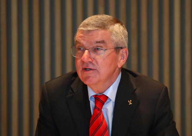 國際奧委會主席巴哈。路透