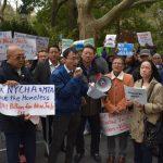 市議會今表決監獄案 場外百人齊呼籲市議員投反對票