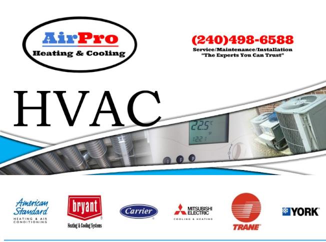 華美冷暖工程服務馬州、維州政府准照優良廠家。