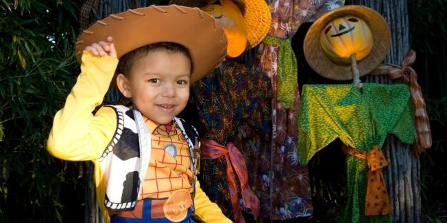 萬聖節即將到來之際,華府國家動物園的經典孩童活動「Boo at the Zoo」。(動物園提供)