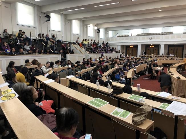 麻州眾議員陳德基(Tackey Chan)提出的族裔細分法案H.2681日前在麻州州府大樓舉辦參眾議會聯合聽證會。(記者劉晨懿之/攝影)
