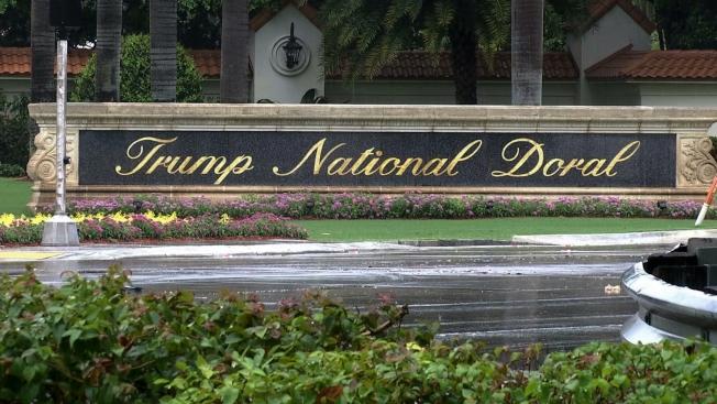 邁阿密川普國家多羅高爾夫度假村。(美聯社)